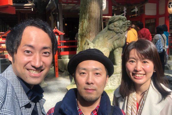 【婚活&縁結び】会員さまと椿大神社へお参りしました